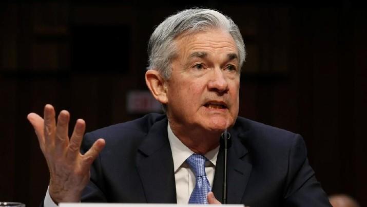 Gubernur The Fed Jerome Powell kembali mengatakan perekonomian AS kuat sehingga memungkinkan terjadinya kenaikan suku bunga acuan yang bertahap.