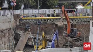Ahli Konstruksi Sebut Underpass Soetta Rubuh karena Hujan