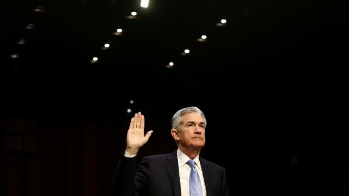 Inflasi AS Tinggi, Perhatian Tertuju Pada Powell dan The Fed