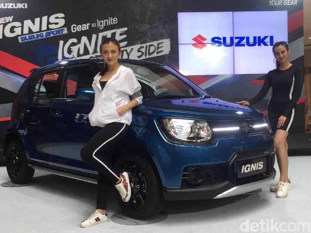 Di urutan 17 ada Suzuki Ignis yang terjual sebanyak 934 unit. Posisi Ignis dalam daftar mobil terlaris tidak berubah. Foto: Suzuki