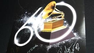 Grammy Tambah Jumlah Nomine Pada Empat Kategori Bergengsi