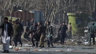 Bom Bunuh Diri di Dekat Akmil Afghanistan Tewaskan 6 Orang