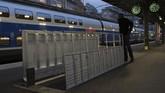 Akses menuju pintu bunker Perang Dunia kedua di Gare de l'Est, Stasiun Kereta Timur, Paris, Prancis. (AFP PHOTO / Philippe LOPEZ)