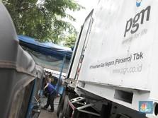 Laba Bersih Anjlok 51%, Saham PGAS Justru Menguat 1,26%