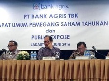 Pasca-Crossing, Bank Agris Catat Net Buy Terbesar di BEI