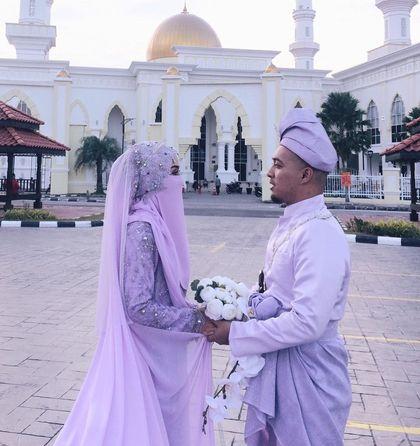 Foto Pernikahan Bercadar Tulisanviral Info