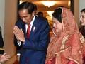 Jokowi Angkat Isu Rohingya Saat Bertemu Presiden Bangladesh