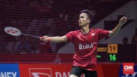 Anthony Ginting Melaju ke Final Indonesia Masters 2018