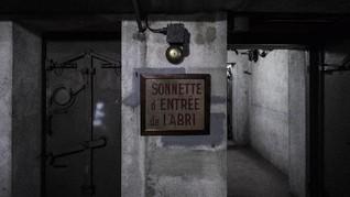 FOTO: Bunker Peninggalan Perang Dunia Kedua di Prancis