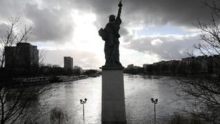 Objek Wisata di Paris Tak Beroperasi hingga Akhir Pekan Ini