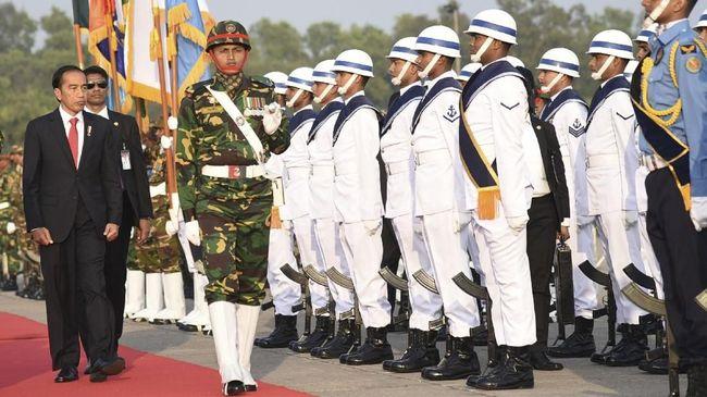 Jokowi Temui PM Bangladesh dan Kunjungi Pengungsi Rohingya