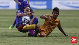 FOTO: Bhayangkara FC Kalah dari Tokyo FC di SUGBK