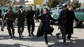 Serangan terjadi menjelang lawatan Presiden Joko Widodo ke Afghanistan yang dijadwalkan akan dilakukan pada Selasa (30/1). (REUTERS/Mohammad Ismail)