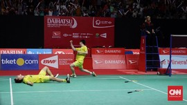 Marcus/Kevin Menjuarai Indonesia Masters 2018