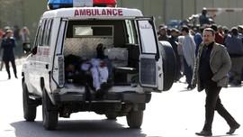 FOTO: Bom Bunuh Diri di Afghanistan, 95 Tewas 158 Luka-luka