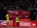 Kevin/Marcus Tak Puas Meski Lolos ke Perempat Final