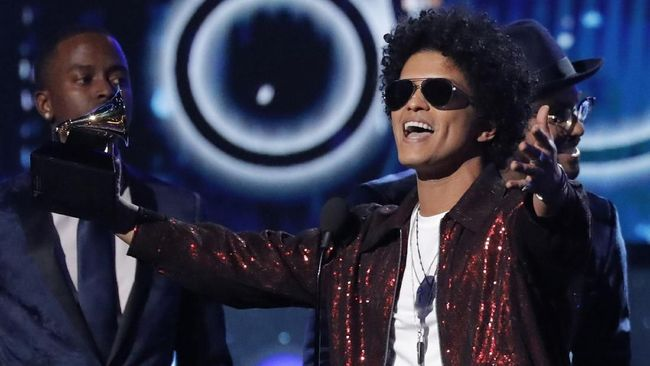 Bruno Mars Sabet Record of the Year Grammy Awards 2018