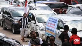 Menhub Sebut Moratorium Tak Korbankan Sopir Taksi Online