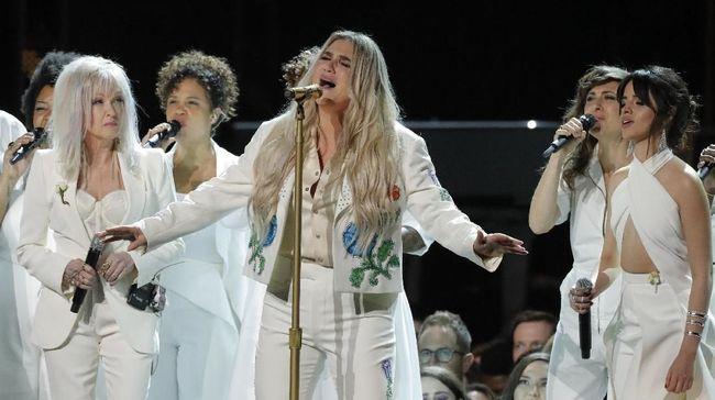 Grammy Awards 2018 Gaungkan Aksi Lawan Pelecehan