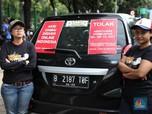 Aturan Taksi Online Berlaku, Sanksi Tilang Belum Berjalan
