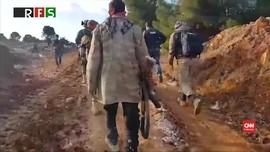 VIDEO: Viral, Persiapan Pasukan Suriah dan Turki di Barsaya