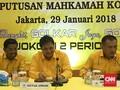 Golkar Gelar Pleno Perdana Jelang Verifikasi Faktual KPU