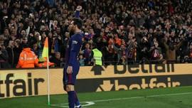 'Pemain Barcelona Offside Sebelum Tendangan Bebas Messi'
