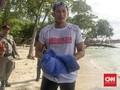 VIDEO: Spontanitas Sandiaga Berenang ke Pulau Bidadari