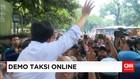 Menteri Perhubungan, Budi Karya Temui Pengemudi Taksi Online