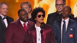 VIDEO: Kemenangan Besar Bruno Mars di Grammy Awards 2018