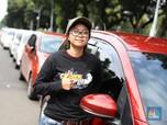 Para Srikandi Taksi Online di Aksi Demo Hari Ini