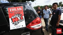 Tujuh Tuntutan Sopir Taksi Online Saat Temui Jokowi