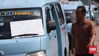 Tak Diajak 'Ngopi' Anies, Sopir Angkot Datangi Balai Kota