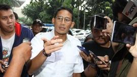 Tertunda Lagi, Polisi Jadwalkan Ulang Pemeriksaan Sandiaga