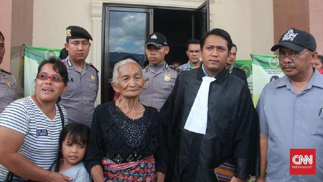 Nenek 92 Tahun Divonis Penjara karena Tebang Pohon Durian