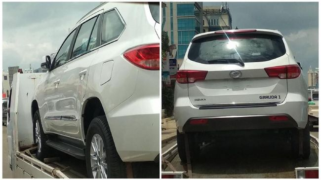 SUV Esemka Garuda 1, Sekilas Mirip Mobil China