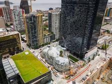 Melihat Hutan Hujan Di Kantor Amazon, Seattle