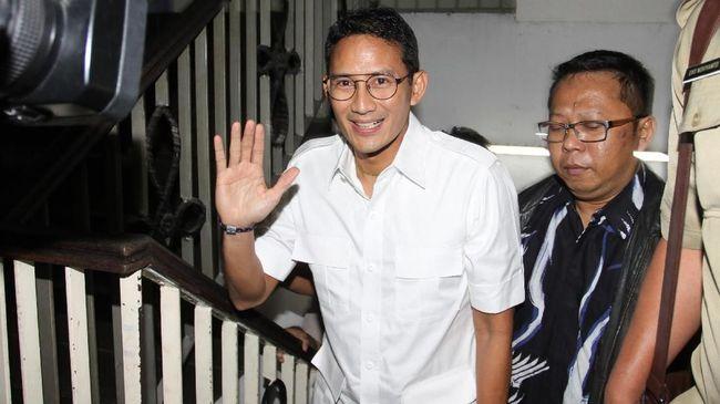 Sandiaga Singgung Soal Pergantian Pemimpin SKPD DKI Jakarta