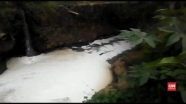 VIDEO: Puluhan Pabrik Buang Limbah ke Sungai Citarum