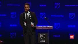 VIDEO: David Beckham Resmi Punya Klub Sepak Bola di MLS