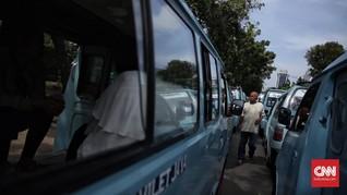 Mogok Angkot di Bandung, Ratusan Armada Bantuan Disiapkan