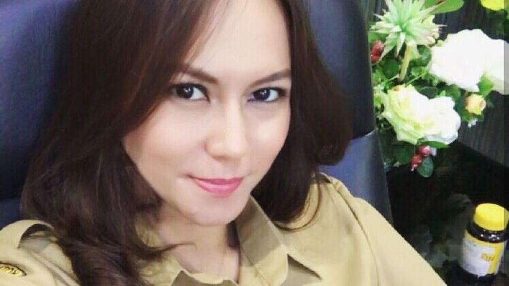 Gaya Olahraga Victorine Lengkong, PNS Cantik dari Bitung yang Viral