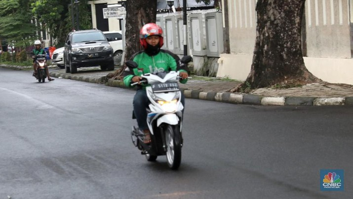 Sejumlah driver ojek online yang tergabung dalam Gerakan Roda Dua (Garda) berencana melakukan demonstrasi saat pembukaan Asian Games.