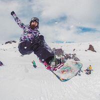 Kelly Clark adalah veteran di olahraga snowboarding, dengan lebih dari 70 kemenangan di kejuaraan. (Foto: instagram/TheKellyClark)