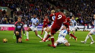 Liverpool Menang Telak di Markas Huddersfield
