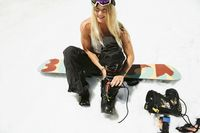 Hannah Teter adalah atlet snorboarding dengan segudang prestasi, termasuk di antaranya menjuarai Olimpiade Musim Dingin tahun 2006 dan 2010. (Foto: instagram/hannahteter)