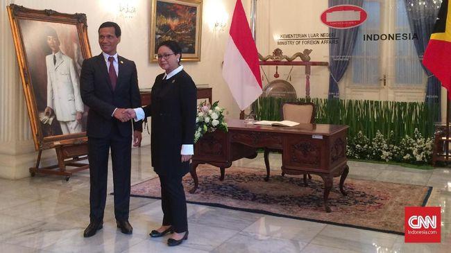 Menlu Sebut RI selalu Dukung Timor Leste Jadi Anggota ASEAN