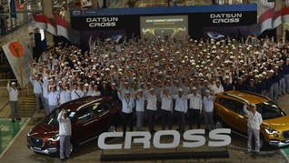 Datsun Mulai Produksi Cross di Purwakarta