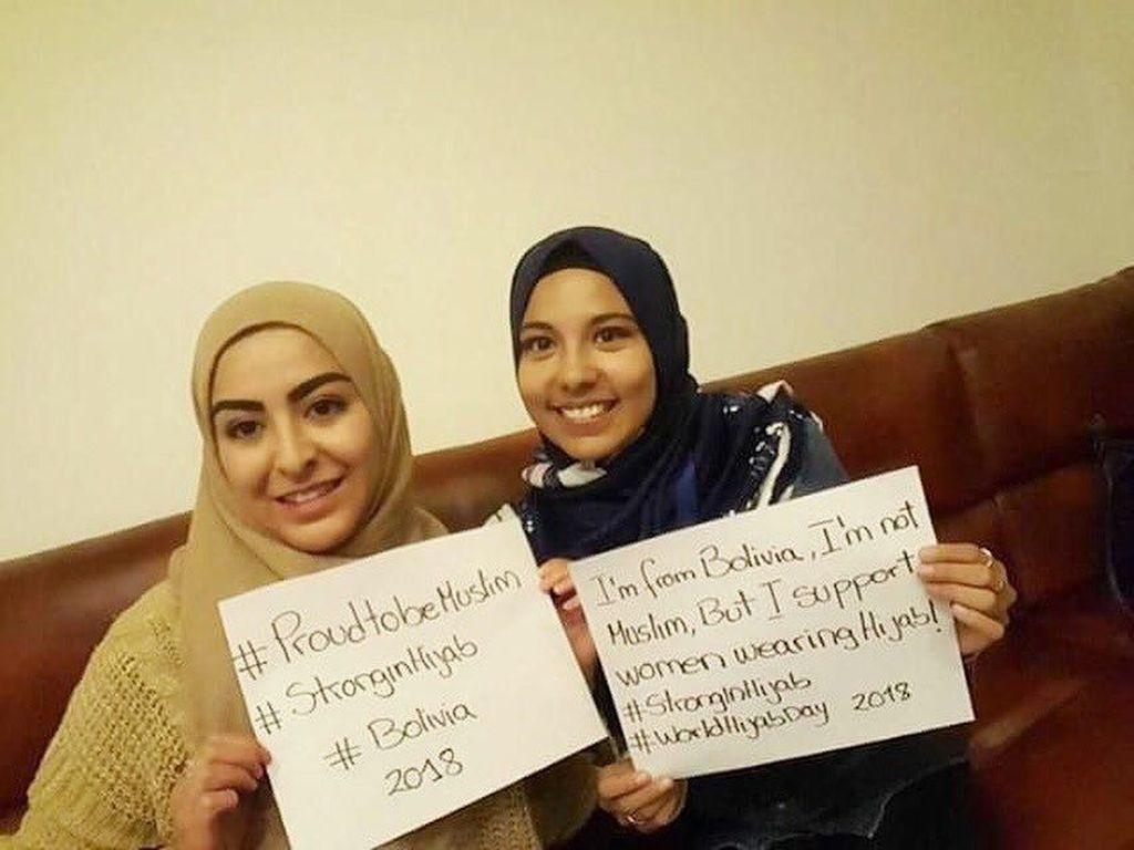 Rayakan World Hijab Day, Non Muslim Ikut Pakai Hijab