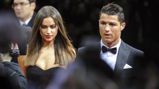 Ronaldo Cemburu Melihat Kemesraan Irina dan Aktor Hollywood